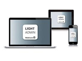 LIGHT ADMIN App: Leuchten smart konfigurieren
