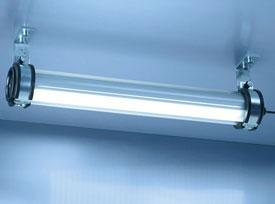 Industrial tube luminaire now for further fields of application
