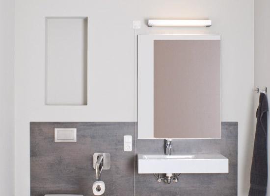 Lighting solutions for sanitary areas