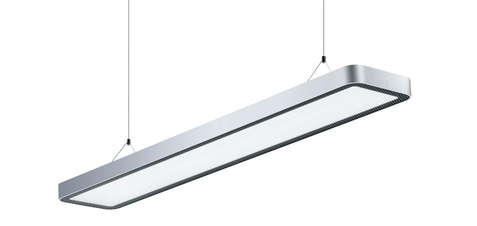 Latest new technology in proven waldmann design with luminaire led design