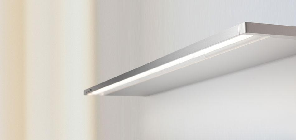 Bed wall-mounted luminaire ZERA BED