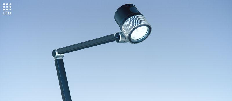 Arm-Mounted Luminaire ROCIA.focus