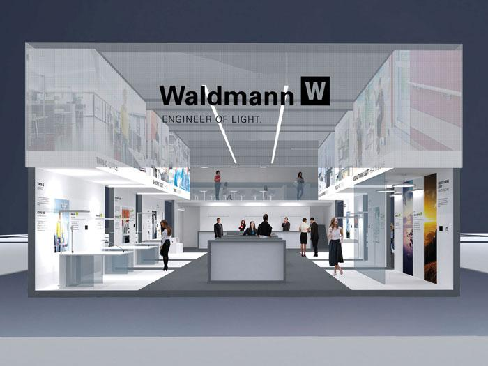 Waldmann auf der Light & Building 2014