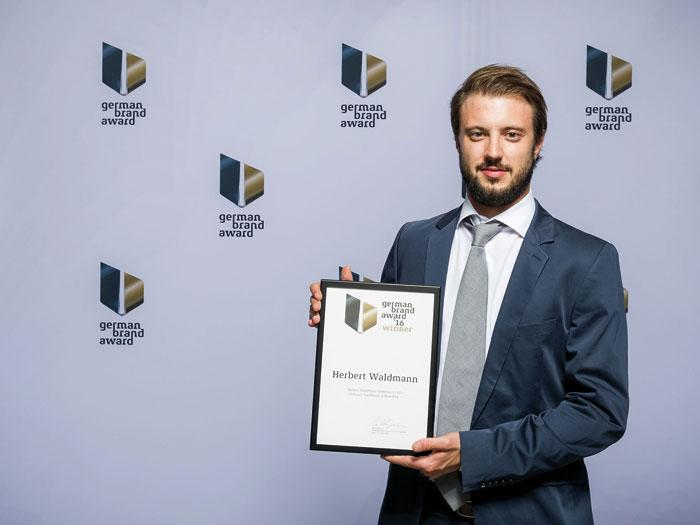 Waldmann receives German Brand Award 2016