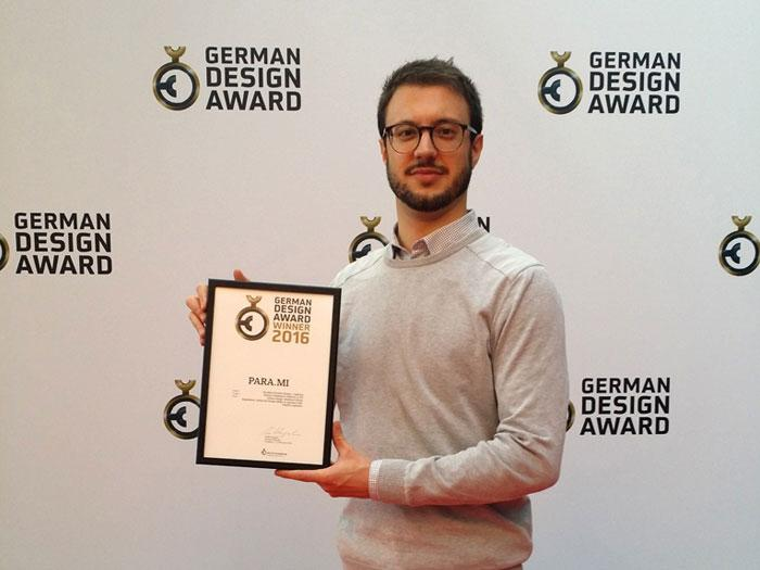 Waldmann receives the German Design Award