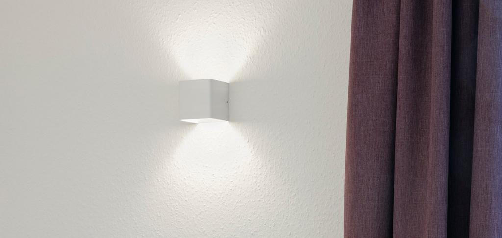 Wall-Mounted Luminaire CUBE