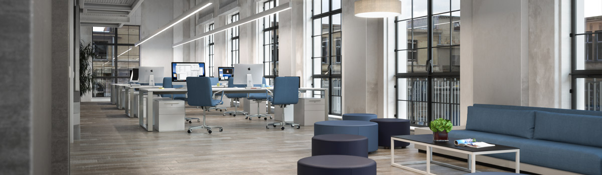 Lighting solutions for communication areas